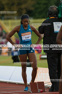 IAAF DIAMOND LEAGUE-Birmingham Women  400m  Shana Cox of GB