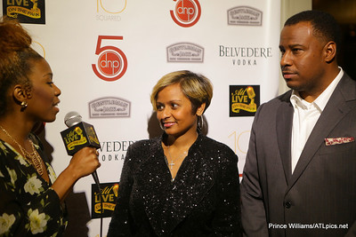 Red Carpet Host, Diamonde, with Shanti Das & Marlon Nichols