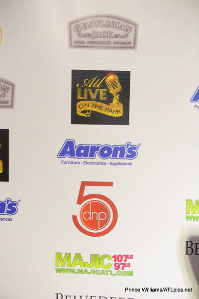 Gentleman Jack, Aaron's, MAJIC 107.5/97.5, sponsors of ATL Live on the Park