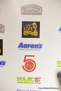Gentleman Jack, Aaron's, MAJIC 107.5/97.5, sponsors of ATL Live on the Park