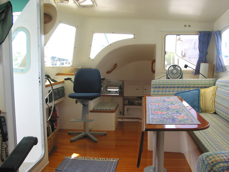 """Scout"", pilothouse"