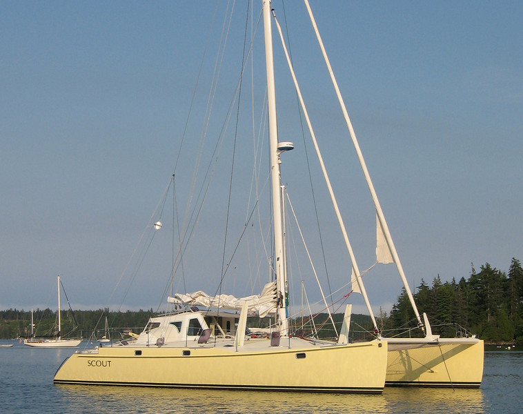 "A46Mk2 ""Scout"", built 1995 by Austral Marine, NZ"