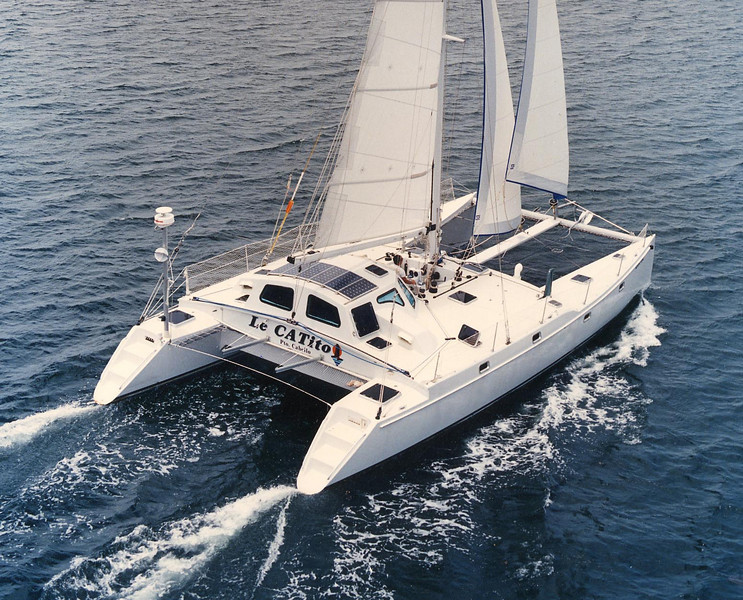 "A46-LR, ""LeCatito"" built 1994 by Bennett Bros. Yachts"
