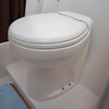 Lightweight toilet, custom built by Alwoplast.