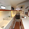 Large, very functional galley.