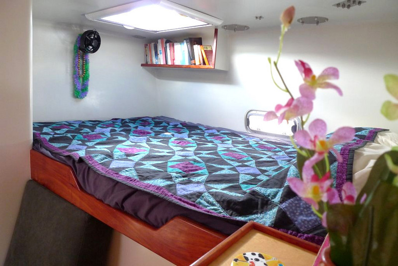 Port mid cabin double berth, SEGUE.