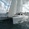The self tacking staysail is the workhorse of the sailplan.