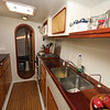 "Galley looking forward; A55 ""SEGUE"""