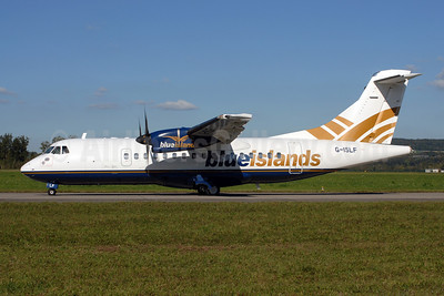 Blue Islands ATR 42-500 G-ISLF (msn 546) ZRH (Rolf Wallner). Image: 907349.