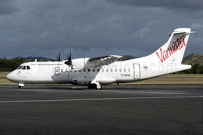 """Spirit of Vanuatu"", leased from ATR on December 19, 2003"