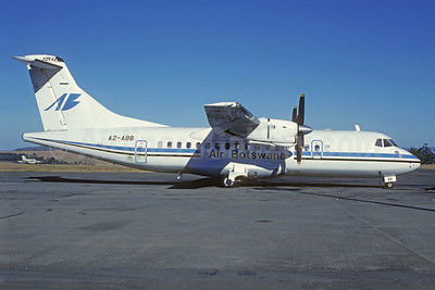 Air Botswana ATR 42-320 A2-ABB (msn 101) MBD (Christian Volpati Collection). Image: 923376.