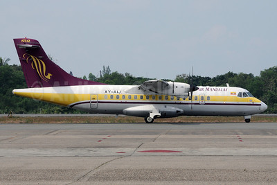 Air Mandalay ATR 42-320 XY-AIJ (msn 268) RGN (Richard Vandervord). Image: 923113.