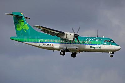 Aer Lingus Regional-Aer Arann ATR 42-300 EI-CBK (msn 199) DUB (SM Fitzwilliams Collection). Image: 911739.