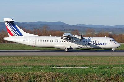 Air France by Airlinair ATR 72-212A (ATR 72-500) F-GVZM (msn 590) BSL (Paul Bannwarth). Image: 911782.