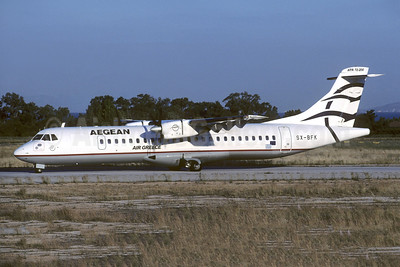 Aegean Airlines (Aegean Aviation) - Air Greece ATR 72-202 SX-BFK (msn 313) SKG (Christian Volpati Collection). Image: 953174.