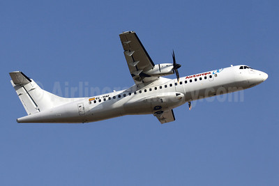 AirEuropa (Swiftair) ATR 72-212A (ATR 72-500) EC-MAF (msn 568) PMI (Javier Rodriguez). Image: 923097.