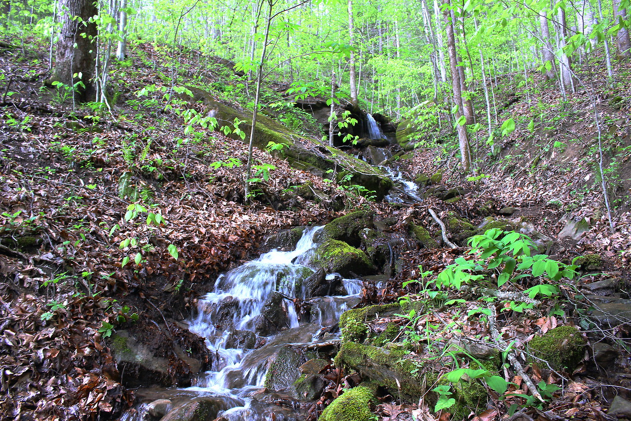 Cascading down into Big Piney