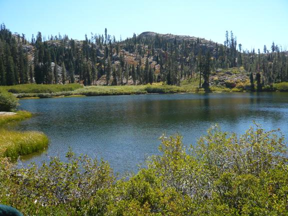 Snake Lake in Tahoe National Forest