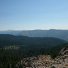 View from near Mt. Ararat along Plumas NF road 23N62X.