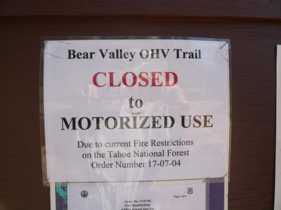 BearValleyClosedSign