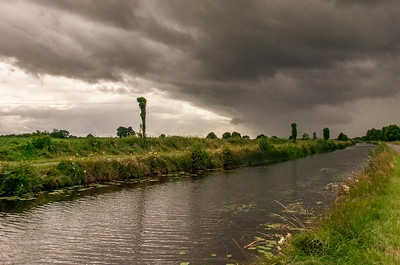 Bad weather on the way, near Tullamore