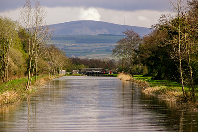 Towards Digby Bridge and the Wicklow Mountains