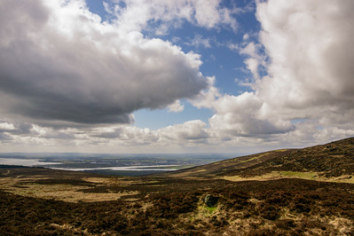 Towards Dundalk, from above Ravensdale Forest