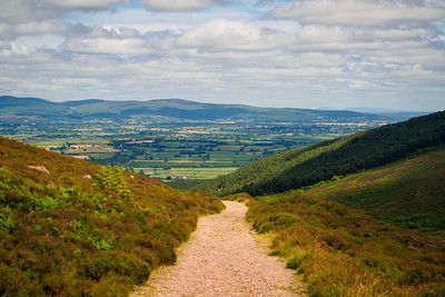 The Tipperary Heritage Way south of Bay Lough