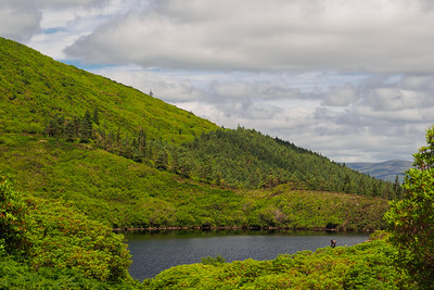 Bay Lough in the Knockmealdown Mountains