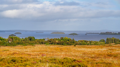 Towards Lough Corrib from Newvillage