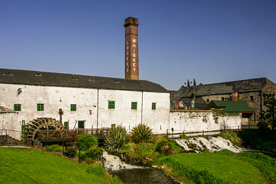 Kilbeggan Distillery, formerly Locke's Distillery, near the start of the Westmeath Way