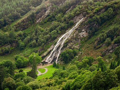 Powerscourt Waterfall from Crone Wood
