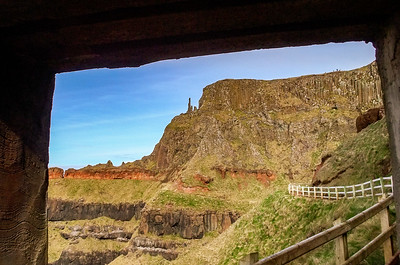 Cliff walk east of Giant's Causeway