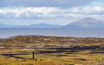 View across Westquarter, Inishbofin