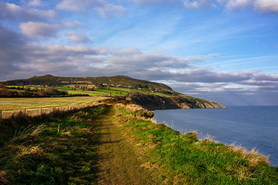 Between Bray Head and Greystones