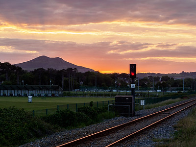 South of Greystones, with the Little Sugarloaf in the background