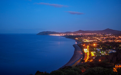 Killiney Bay from Killiney Hill Park