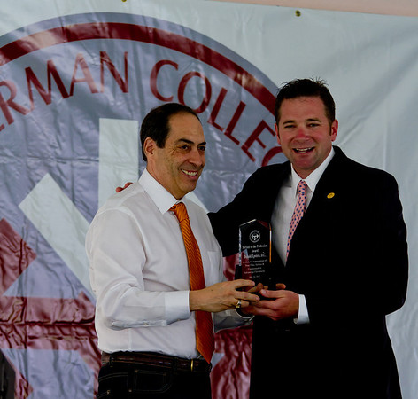 Donny Epstein receives Award at Sherman College May 26, 2012