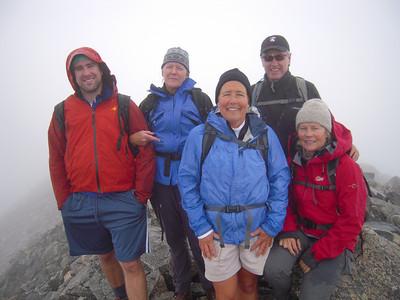 Mt. Yale 14,202' - Nate Jones, Jeni Sammons, Julie Webster, Mel Andrews, Moffet Zoe Atcheson Silverman