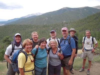 Colorado Trail - Mark James, Julie Webster, Nathan Bowen, Wendy Jones, Nancy Orcutt, Chris Hicks, Steve Holser, Steve Barton, David Nutter Summerfield