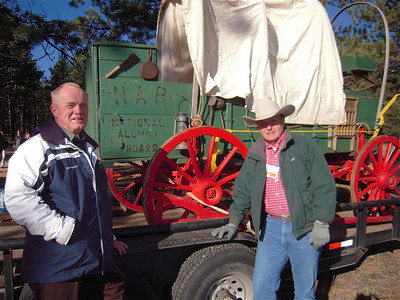 Bob (shotgun) Baggs and Rusty (Wagonmaster) Signor