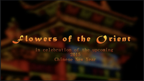 FLOWERS OF THE ORIENT