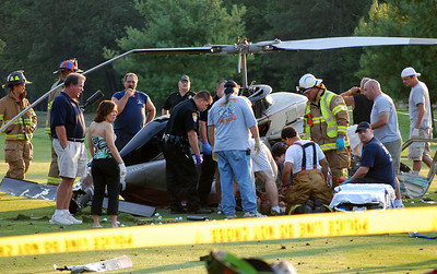 RYAN TOWNSHIP HELECOPTER CRASH 8-22-08 PICTURES BY FRANK ANDRUSCAVAGE