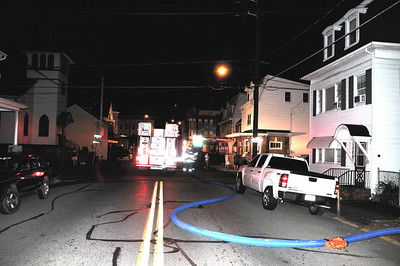 MINERSVILLE BUILDING FIRE 8-9-2010 PICTURES AND VIDEO BY COALREGIONFIRE
