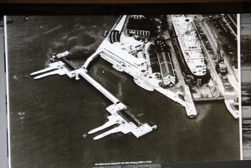 Southampton berth 50 with two flying boat moorings.