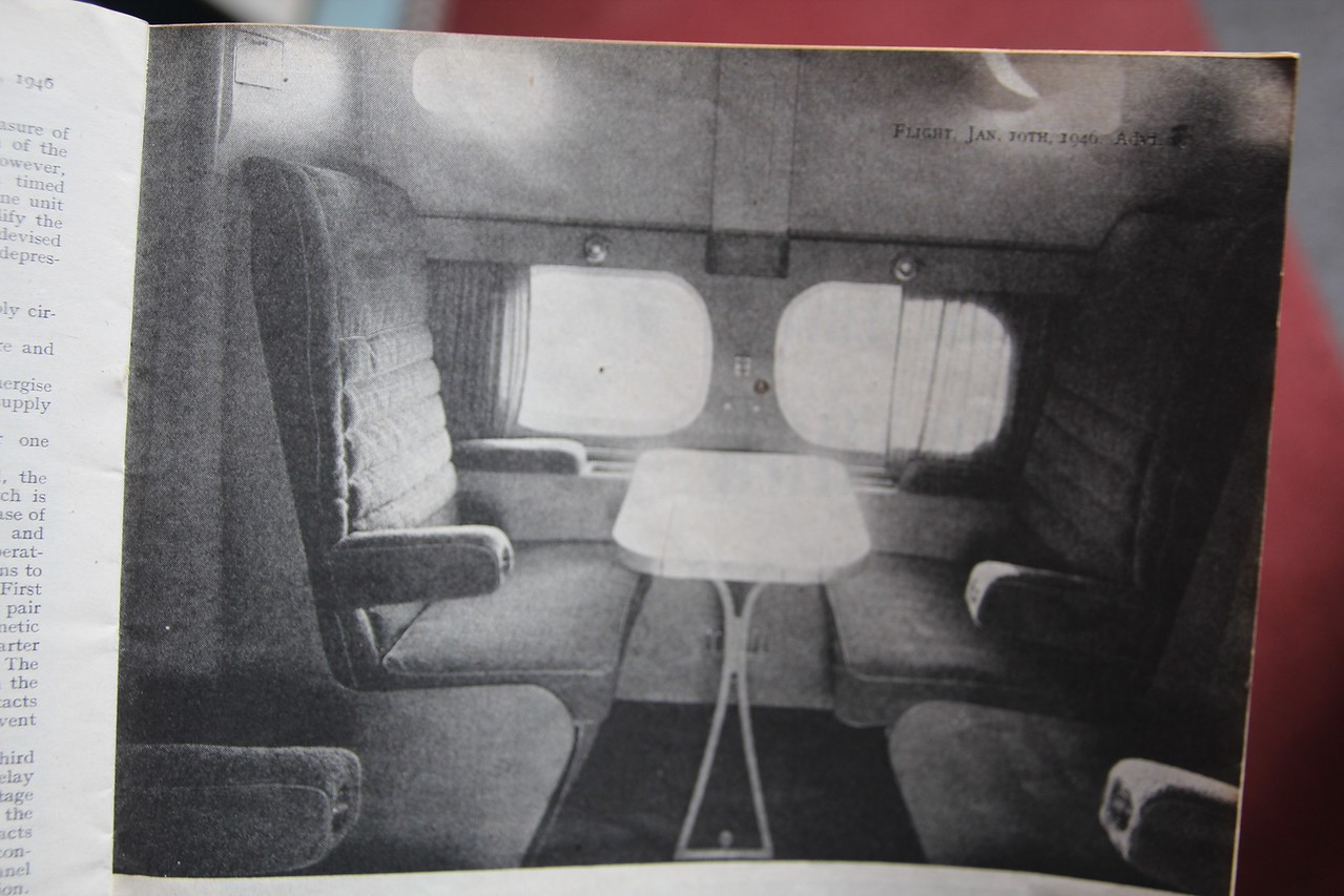 An interior published in 1946.