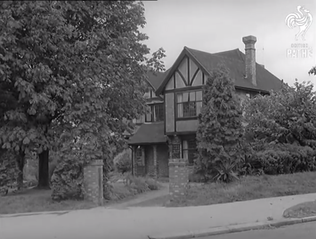 Seretse and Ruth's actual home in Croydon.