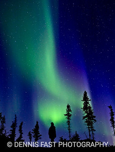 NORTHERN LIGHTS SPECTACULAR.  Nothing is more mesmerizing than a shimmering curtain of light in the northern sky. When the show lasts for hours, as it sometimes does, it's difficult to go to bed.