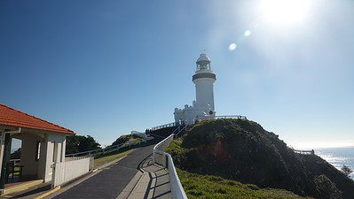 BYRON BAY LIGHTHOUSE.  THE MOST EASTERN POINT OF AUSTRALIA
