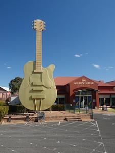 THE BIG GUITAR IN TAMWORTH, AUSTRALIA'S COUNTRY MUSIC CAPITAL